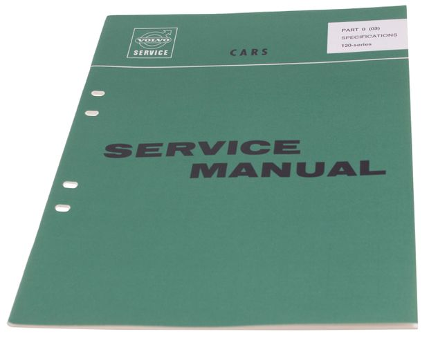 Workshop manual Specifications Amazon En in the group Volvo / Volvo Amazon / Miscellaneous / Literature Amazon at VP Autoparts AB (10302)