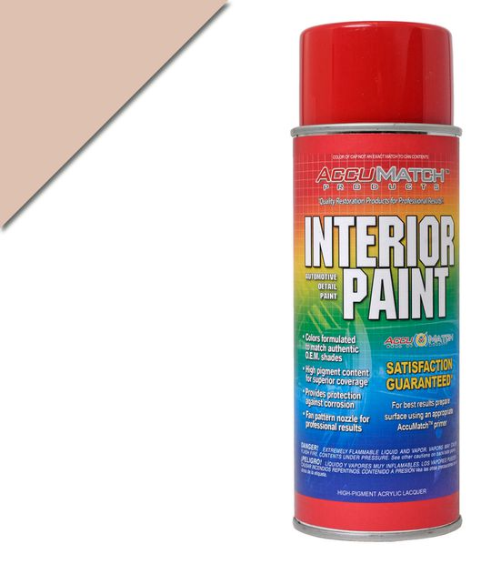 Interior paint 64-65 Light palamino in the group Ford/Mercury / Ford Mustang 65-73 / Interior / Vinyl dye/interior paint / Interior paint at VP Autoparts AB (L-17690)
