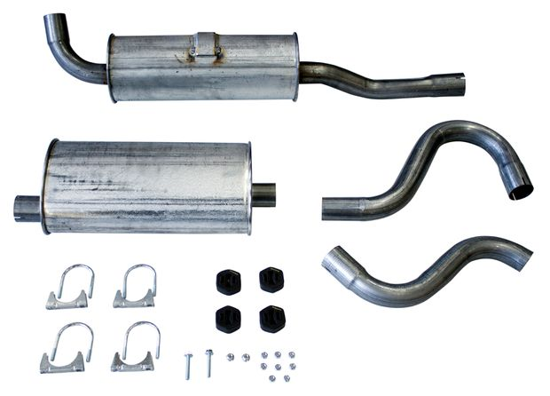 Exhaust 1/2 kit 700/900 w/o turbo 90-97 in the group Volvo / Volvo 740/760/780 / Fuel/Exhaust system / Exhaust system / Exhaust system 740 B200/B230 86- at VP Autoparts AB (VP-68016)