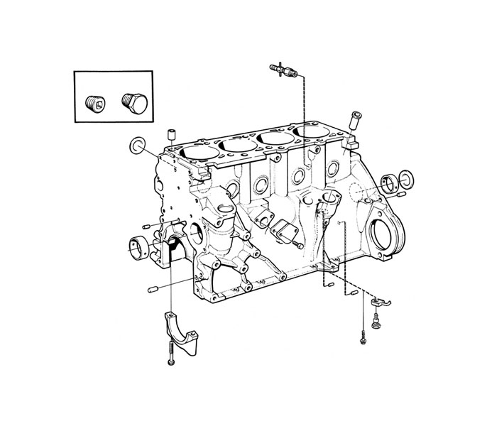Volvo / Engines Volvo / Volvo B200 / Engine block/gaskets B200 | Volvo B23 Engine Diagram |  | VP Auto Parts